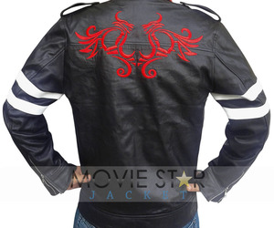 winter jacket, celebrity jacket, and alex mercer jacket image