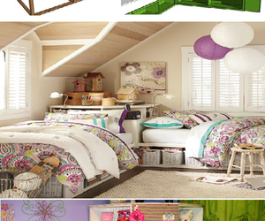 bed, home, and house image