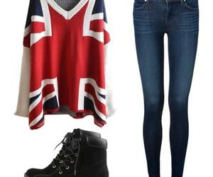 fashion, flag, and Polyvore image