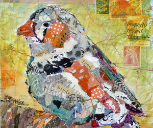 bird, Collage, and cute image