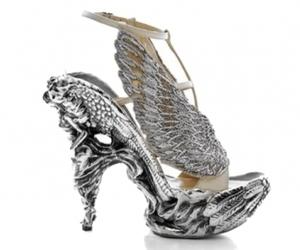 shoes, heels, and Alexander McQueen image