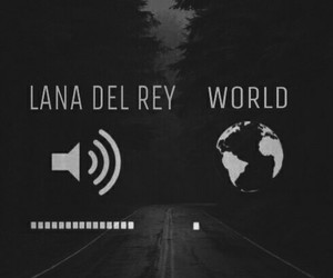 music, sound, and lanadelrey image