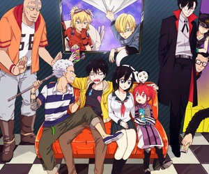 blood lad, anime, and staz image