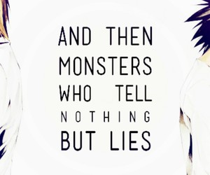 death note, monsters, and l lawliet image