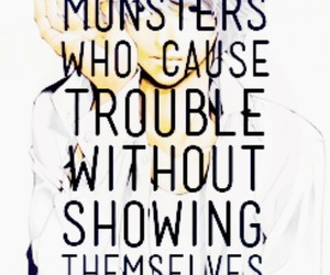 death note, fear, and monsters image