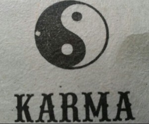 karma, black and white, and black image