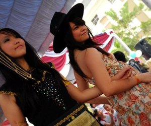 dee-dee, Cowgirl, and fashion show image
