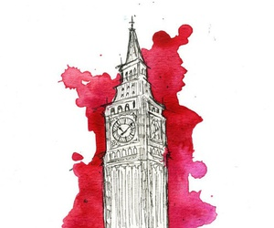 london, art, and Big Ben image
