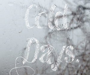 cold days, cool, and rain image