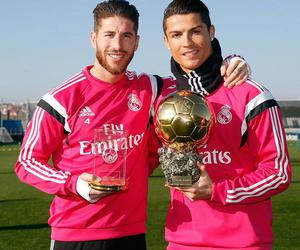 real madrid, Ronaldo, and sergio ramos image