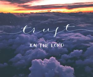 trust, jesus, and god image