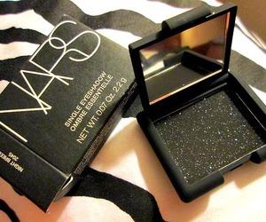 nars, black, and eyeshadow image