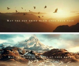 the hobbit, LOTR, and middle earth image