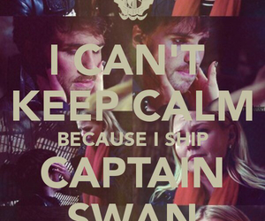 ouat, captain swan, and captain hook image
