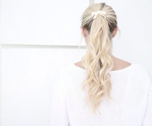 hair, blonde, and cute image