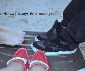 friendship, shoes, and typography image
