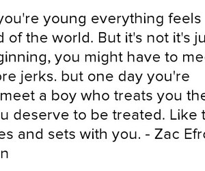 17 again, quote, and zac efron image