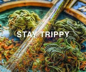 trippy and weed image