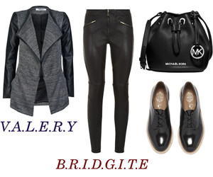 bag, brogues, and clothes image