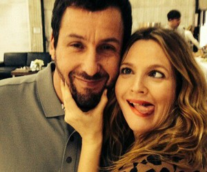 drew barrymore and adam sandler image