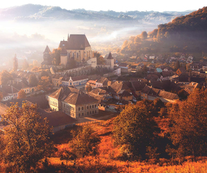 autumn, village, and fall image