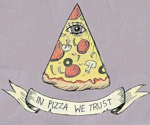 pizza, food, and trust image