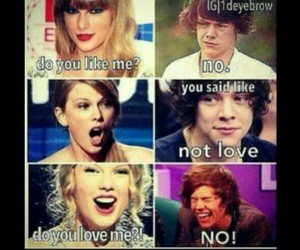 Harry Styles, Taylor Swift, and one direction image