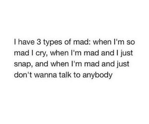 mad, cry, and quotes image