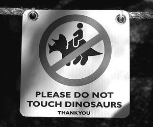 dinosaur, funny, and black and white image