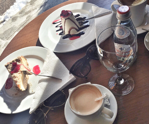 cake and coffee image