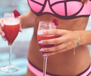 berry, coctail, and fit image