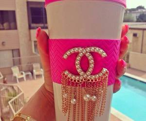 chanel, pink, and luxury image