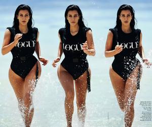 kim kardashian, vogue, and kim image