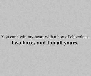 chocolate, love, and heart image