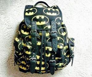 batman, bag, and backpack image