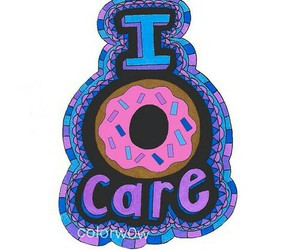 donut, care, and quote image