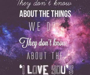 quotes, one direction, and galaxy image