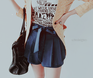 bag, pretty, and shorts image