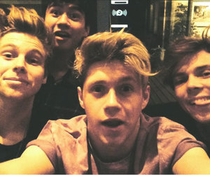 5sos, niall horan, and one direction image
