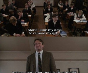 dead poets society, movie, and quotes image