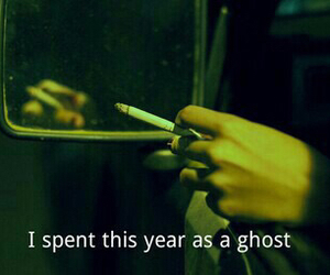 ghost, quotes, and sad image
