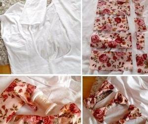 diy, bow, and shirt image
