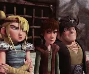 astrid, grrr, and hiccup image