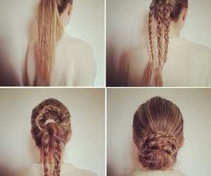 tutorials, fashion, and hairstyle image