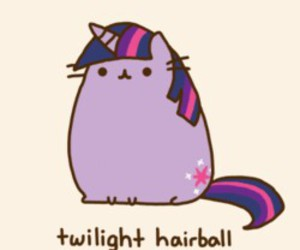 cat, pusheen, and my little pony image
