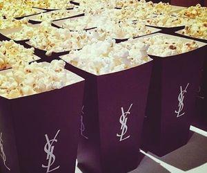 popcorn, YSL, and food image