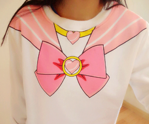 kawaii, pink, and sailormoon image