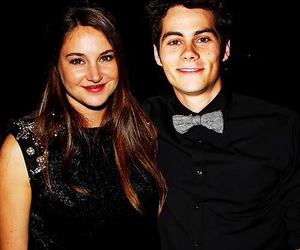 dylan o'brien, Shailene Woodley, and divergent image