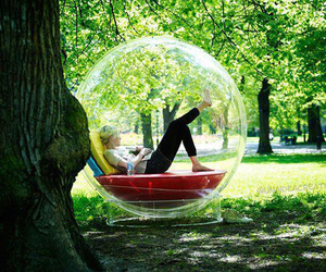 bubbles, nature, and cool image