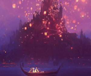 background, tangled, and beautiful image